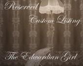 Custom listing for E Odean