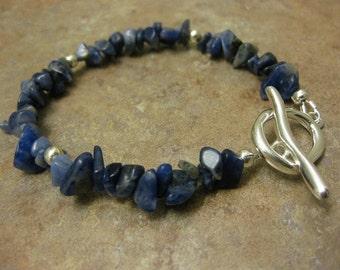 sodalite bracelet, sodalite jewelry, sodalite gemstone, gemstone bracelet, gemstone jewelry, sodalite