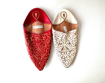 2 Moroccon Shoes- Wear- Morroccan Apparel- Fashion- Marrakesh- Unmatched