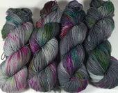 Simple Sock, Sock Yarn, Hand Dyed Yarn, Superwash Merino,Nylon, Fingering, Spread The Word