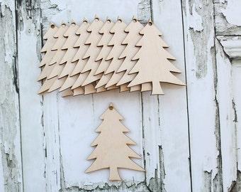 Christmas Tree Ornaments Wood Christmas Tree Ornaments DIY Christmas Tree