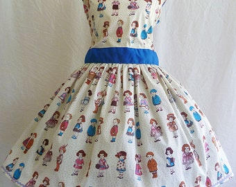 Vintage Style Full Dress By Rooby Lane
