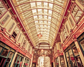"London photography, Harry Potter photo, London art Print - ""Diagon Alley"""