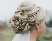 ON SALE Wedding headpiece, headband, ELSIE, Rhinestone Headband, Wedding Headband, Bridal Headband, Bridal Headpiece, Rhinestone