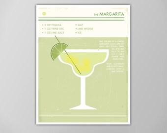 Margarita print | Etsy