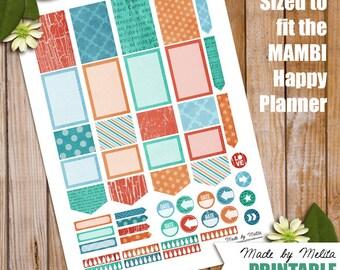Happy Planner Printable - Fresh