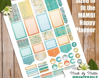 Happy Planner Printable - HP15