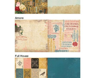 "BoBunny's ""Juliet"" Collection Set of 12x12 Papers"