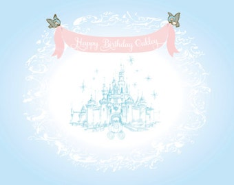 Cinderella Backdrop by Itsy Belle Studio