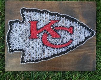 Kansas city chiefs String Art