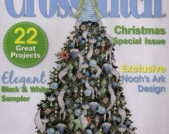 Just Cross Stitch Magazine: December 2008 Issue