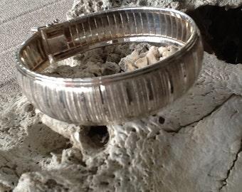 Vintage Sterling Italy Bangle Bracelet