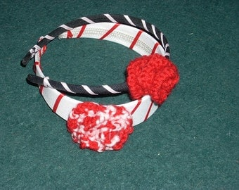 Knit Flower Headband