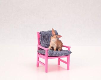 DIY Danish Modern Lounge Chair