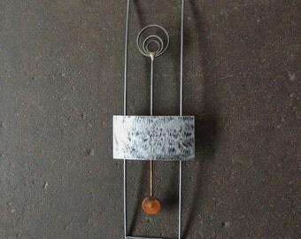 Modern Metal Wall Hanging,  Metal Wall Art, Reclaimed Metal Wall Hanging, Industrial, Recycled Metal Wall Sculpture, Steel Sculpture
