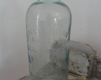 Antique Robert Gibsons tablet bottle