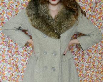 Rabbit Collar Coat