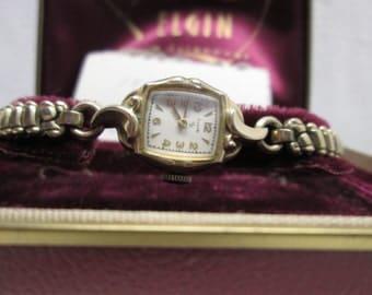 Elgin Ladies Watch, Art Deco, wind up watch, Jewelry