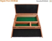 ON SALE Gloria Cubana Cigar Box Custom Redwood Mens Travel Valet Jewelry Box Christmas Valentines Day Gift  Groomsmen and Best Man