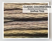 JOSHUA TREE Classic Colorworks hand-dyed embroidery floss cross stitch thread at thecottageneedle.com