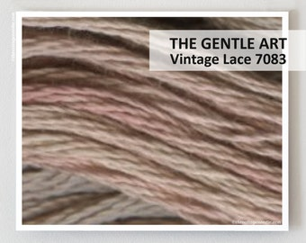 VINTAGE LACE 7083 : Gentle Art GAST hand-dyed embroidery floss cross stitch thread at thecottageneedle.com