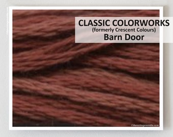 BARN DOOR  : Classic Colorworks hand-dyed embroidery floss cross stitch thread at thecottageneedle.com