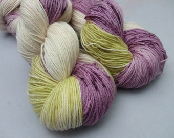 British Born and Bred 4 ply Sock Yarn. Pictures of Lily