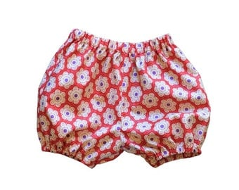 SALE, America, Red, Labor Day, Bubble Short, Girls Short - Folk Song Berry