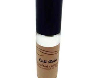 CALI RAIN - Natural Cologne Oil - Pocket Size Roll-On 10ml - Gifts Under 10