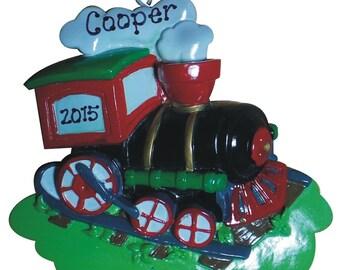Choo Choo Train Ornament - Personalized