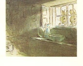 Beatrix Potter - MR.TOD Book Plate 43