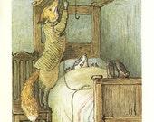 Beatrix Potter - MR.TOD Book Plate 62