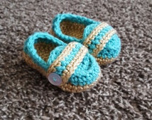 Baby Monk Strap Booties 3-6 months
