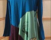 Turquoise Tunic! Size medium to large
