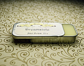 Solid Perfume - Dreamsicle - Perfume Crème Tin - Oranges and Sensual Vanilla