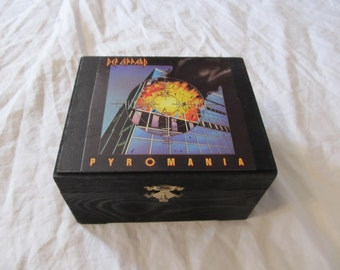 Def Leppard Pyromania Keepsake Stash Box