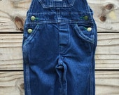 Vintage Liberty Blue Jean Denim Overalls - 2 regular