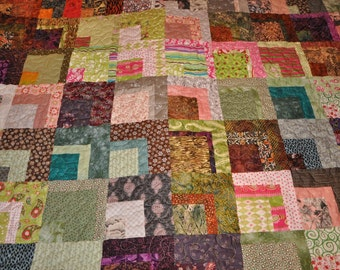 Crossroads queen sized quilt