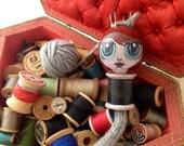 Modest Margaret : Spool Knitter, Knitting Nancy
