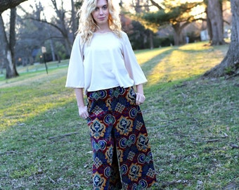 Vintage Corduroy Gaucho Pants Size Women's XS