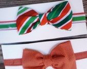 Toddler Hipster Christmas Bowtie Bow Tie Photoprop Photo Prop  RTS Ready to Ship