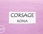 One Yard Corsage Kona Cotton Solid Fabric from Robert Kaufman, K001-487
