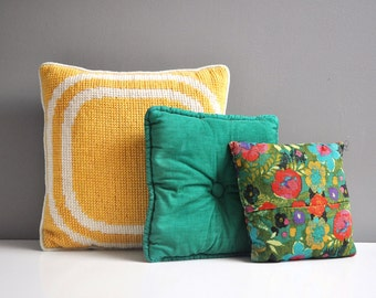 Vintage Decorative Pillow Collection