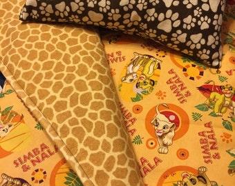 Lion King Infant Quilt Set