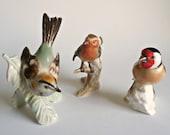 3 Goebel Bird Figurines W. Germany Porcelain Birds