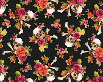 Charm Skulls in Coral from Michael Miller