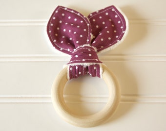 Natural Teething Ring