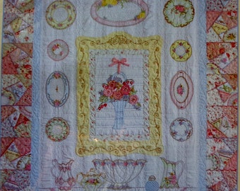 Crab Apple Hill | PIECES OF The PAST | Quilt Pattern | Cosmo Embroidery Floss And Thread