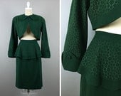 On Layaway for Kasey --> Do Not Buy!!  -->  Vintage 40s Suit --> 1940 Suit  --> 40s Clothing --> 1940s Clothing --> True Vintage Green Suit