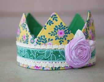 Fabric Crown - Princess Paige